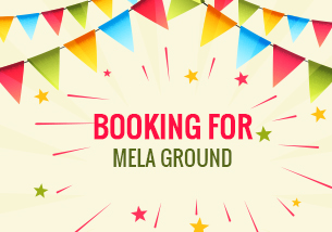 Booking of Mela Ground